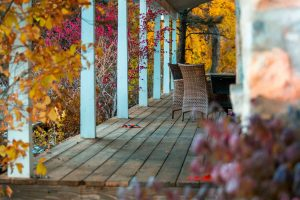 Use this fall home improvement checklist this weekend to get your outdoor living spaces ready for the fall and coming winter season.